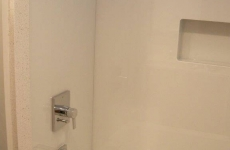Backpainted-glass-in-shower-enclosure