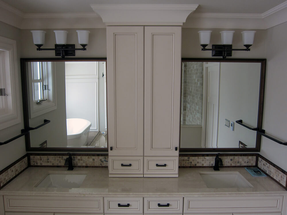 Framed Vanity Mirrors With Oil Rubbed Bronze Frames