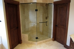 oil rubbed bronze steam shower