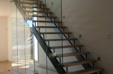 Glass railing 28