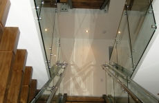Glass railing 9