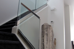 Glass railing 30