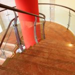 Railing Glass Versus Traditional Handrails - House of Mirrors - Mirrors and Glass Calgary