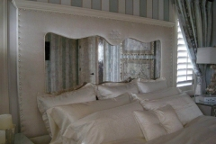 Antique-mirror-headboard
