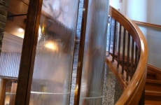 Waterfall-picture-stairwell