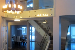 Glass railing 16