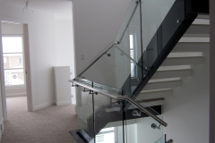 Glass railing 42