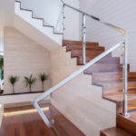 Style Tips for a Beautiful Glass-Railing Staircase - House of Mirrors - Home Renovations Calgary