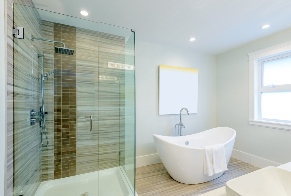 Wish You Could Brighten Up Your Shower Enclosure? - House of Mirrors - Home Renovations Calgary