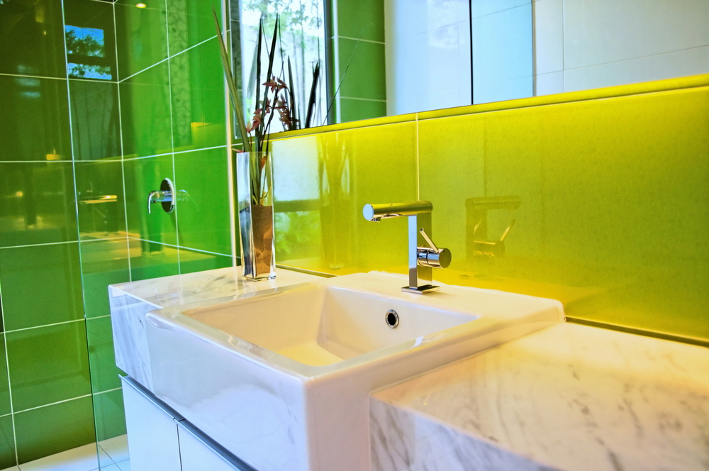 Architectural Patterned Glass in your Shower Space - House of Mirrors - Architectural Patterned Glass