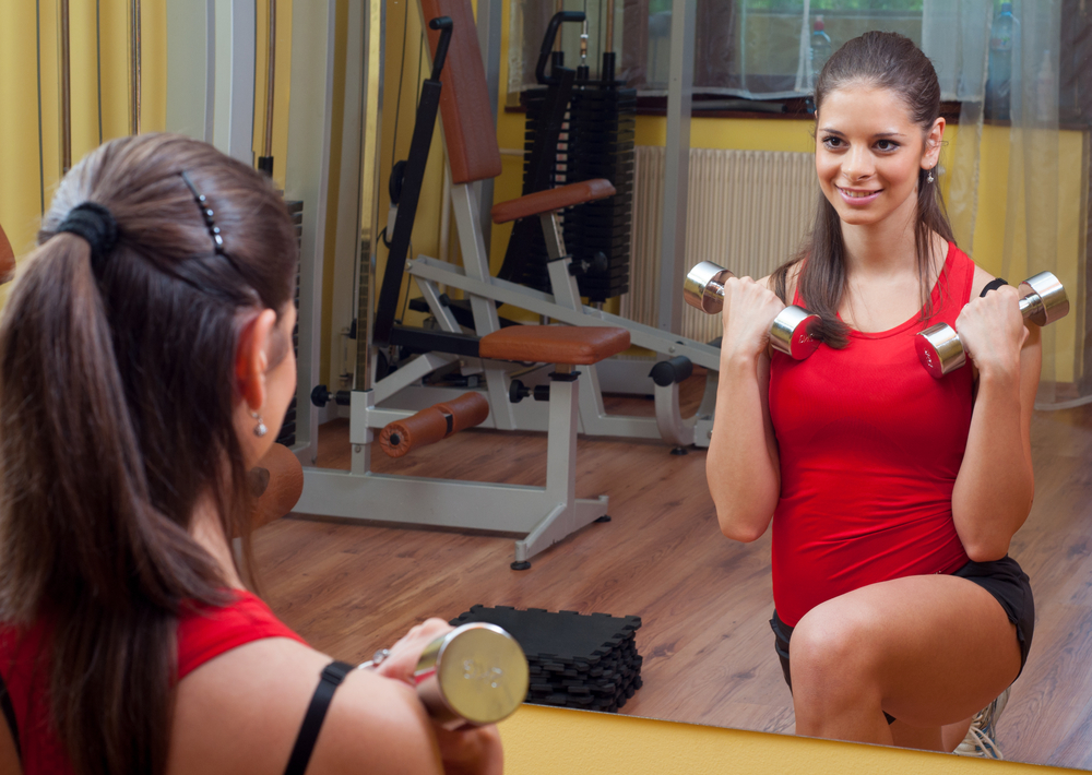 Mirrored Walls for a Home Gym or Studio - House of Mirrors - Mirrors Calgary