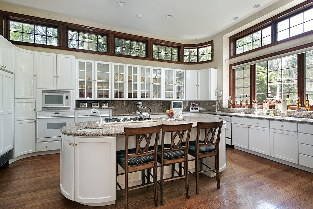 Enhance Your Kitchen by Adding an Architectural Pattern Glass to Your Cabinet Doors - House of Mirrors - Mirrors and Glass Calgary
